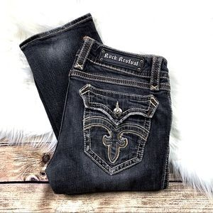 Rock Revival Jeans - 👖|•ROCK REVIVAL•| 'Debbie Straight' Jenas 👖